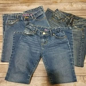 Girls children's place and Gap jeans